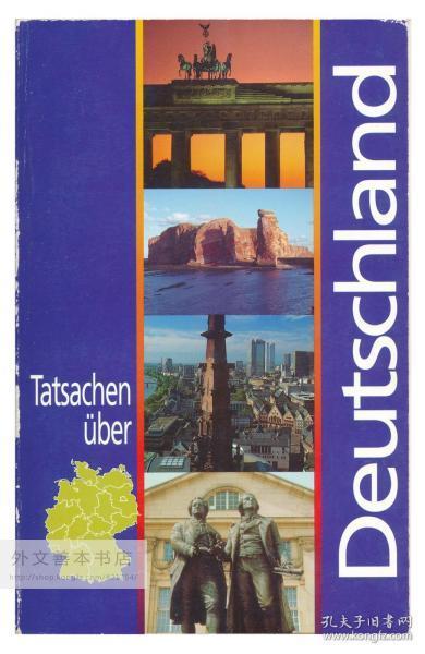 Tatsachen Über Deutschland 德文原版-《德国概况》