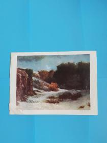 雪景--库尔贝(1819--1877)
