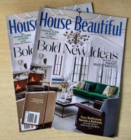 美国版 House Beautiful 美丽家居2020年3月英文版建筑设计杂志