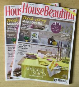 英国版 House Beautiful 美丽家居2020年4月 英文建筑设计杂