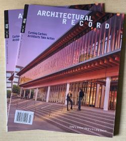 美国版 Architectural Record建筑评论2020年3月英文建筑设计杂志