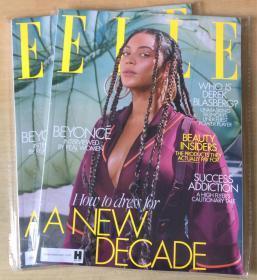 英国版 ELLE 2020年1月 女士时尚服饰潮流服装英文杂志
