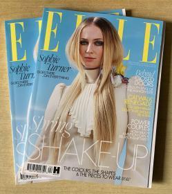 英国版 ELLE 2020年4月 女士时尚服饰潮流服装英文杂志