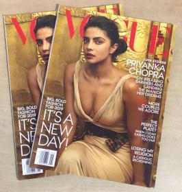 美国版vogue2019年1月Priyanka Chopra 女性时尚服饰美容英文杂志