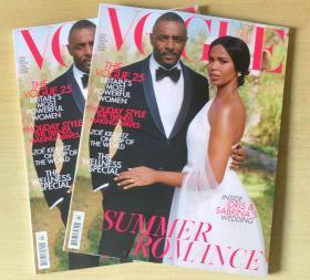 英国版 vogue2019年7月 女性时尚服饰趋势英文杂志