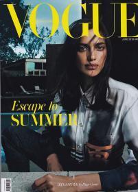 英文版 vogue2019年6月 女性时尚服饰美容英文杂志