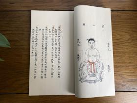 神农皇帝真传针灸图 原版为清代手抄本 国学中医经络书籍 可收藏的宣纸线装影印古籍
