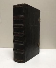 1701年,特伦顿大公会议特命版《罗马弥撒书》,红黑双色套印。
