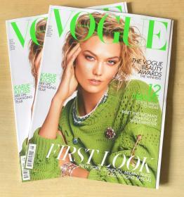 英国版VOGUE2019年8月卡莉·克劳斯Karlie Kloss英文时尚服装杂志