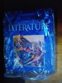 英文原版 The language of LITERATURE by McDougal Littell 著 精装大开本
