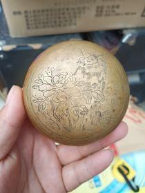 铜墨盒,上面有白石字样,具体啥时候造的暂时不清楚,外观和造型都不错,喜欢的来买,价格不高,售出不退。