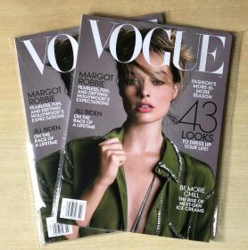 美国版vogue2019年7月MARGOT ROBBIE女性时尚服饰美容英文杂志