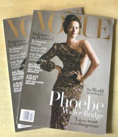 美国版VOGUE 2019年12月Phoebe Waller-Bridge 英文时尚服装杂志