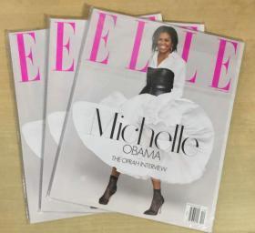 美国版 ELLE 2018年12月 女士时尚服饰潮流服装英文杂志