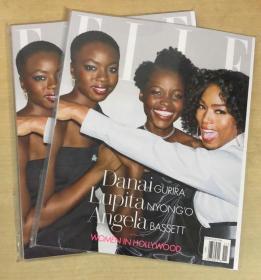 美国版 ELLE 2018年11月 女士时尚服饰潮流服装英文杂志
