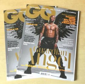 英国版 GQ2019年8月 绅士 英文时尚服装杂志