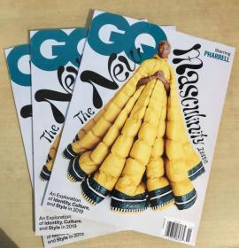 美国版 GQ 2019年11月 英文时尚潮流趋势男士服装杂志