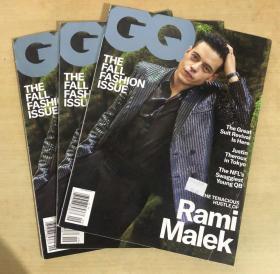 美国版 GQ 2019年9月拉米·马雷克 Rami Malek 英文男士服装杂志