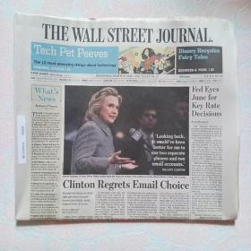 THE WALL STREET JOURNAL 华尔街日报 2015/03/11  外文原版报纸
