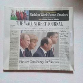 THE WALL STREET JOURNAL 华尔街日报 2015/02/12  外文原版报纸