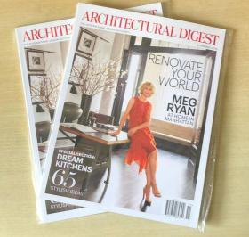 英文AD ARCHITECTURAL DIGEST建筑辑要2016年11月 美国建筑设计杂志