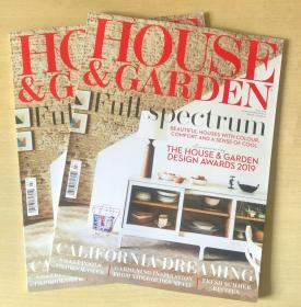 HOUSE&GARDEN 住宅与庭院 2019年7月英国家居装饰装修设计杂志