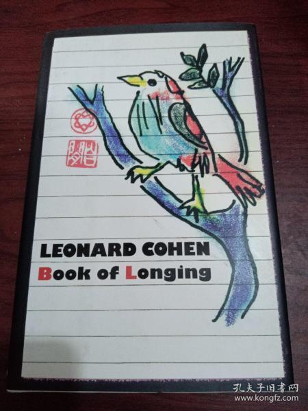 Book of Longing渴望之书 英文原版