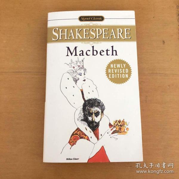 Macbeth 英文原版 (Signet Classic Shakespeare Series)
