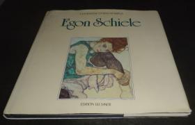 2手德文 Egon Schiele: Die Hauptwerke 席勒画册 xgc61