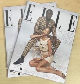 英国版 ELLE 2019年2月 女士时尚服饰潮流服装英文杂志