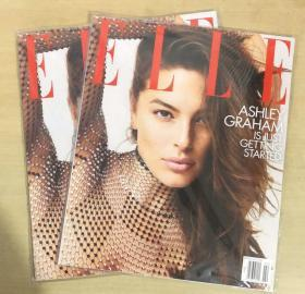 美国版 ELLE 2019年2月 女士时尚服饰潮流服装英文杂志