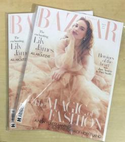 英国版 HARPER`S BAZAAR芭莎2019年3月 英文时尚女士服装杂志