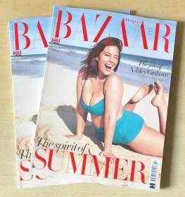 英国版 HARPER`S BAZAAR芭莎2019年7月 英文时尚女士服装杂志