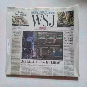 THE WALL STREET JOURNAL 华尔街日报 2015/02/7-8  WSJ 周末版 外文原版报纸