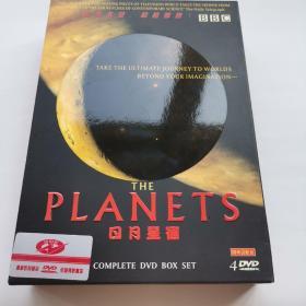 日月星宿  BBC 纪录片 DVD  全套4碟 私藏 碟片全新 天文星座