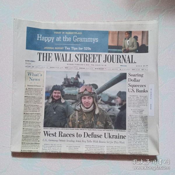 THE WALL STREET JOURNAL 华尔街日报 2015/02/09  外文原版报纸