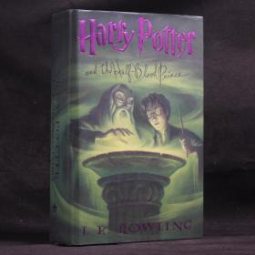 英文原版現貨 HARRY PORTER AND THE HALF-BLOOD PRINCE 哈利·波特與混血王子 【硬精裝】