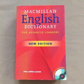 Macmillan English Dictionary for Advanced Learners new edition 麦克米伦高阶美语词典 新版(英文原版 有光盘)