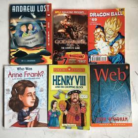 外文童书6本 插图本 绘图本