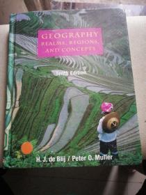 Geography Realms, Regions and Concepts ( Tenth Edition) 大16开,精装