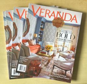美国版 VERANDA 2019年6月 英文室内建筑设计杂志