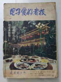 電子愛好者報1989年合訂本。(含試刊號創刊號)