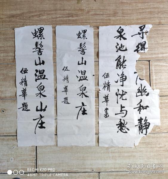 已故四川省民委副主任,四川省委常委、省人大常委会副主任,国家民委副主任、党组副书记,西藏自治区党委书记、西藏军区政委、西藏军区党委第一书记伍精华手稿