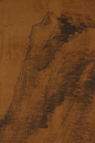 回流字画 夏山 落款:大雅   检索:日本早期文人画家池大雅 服部南郭、彭城百川、衹园南海、柳泽淇园 清代 民国 现代 当代 老画 日本回流字画 日本回流书画