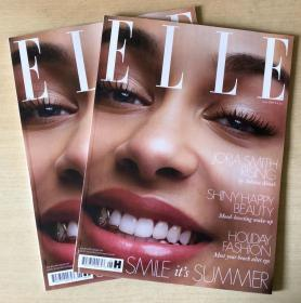 英国版 ELLE 2019年6月 女士时尚服饰潮流服装英文杂志