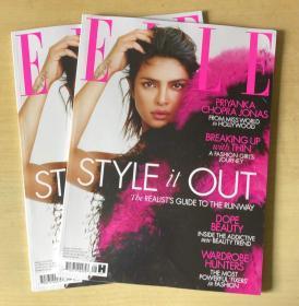 英国版 ELLE 2019年8月 女士时尚服饰潮流服装英文杂志