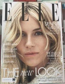 英国版 ELLE 2019年11月 女士时尚服饰潮流服装英文杂志