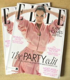 英国版 ELLE 2019年12月 女士时尚服饰潮流服装英文杂志