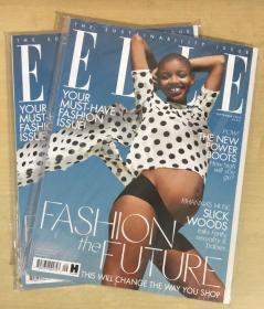 英国版 ELLE 2018年9月 女士时尚服饰潮流服装英文杂志