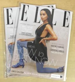 英国版 ELLE 2018年12月 女士时尚服饰潮流服装英文杂志